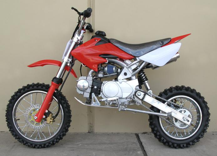 125cc Red BBG Mini Moto