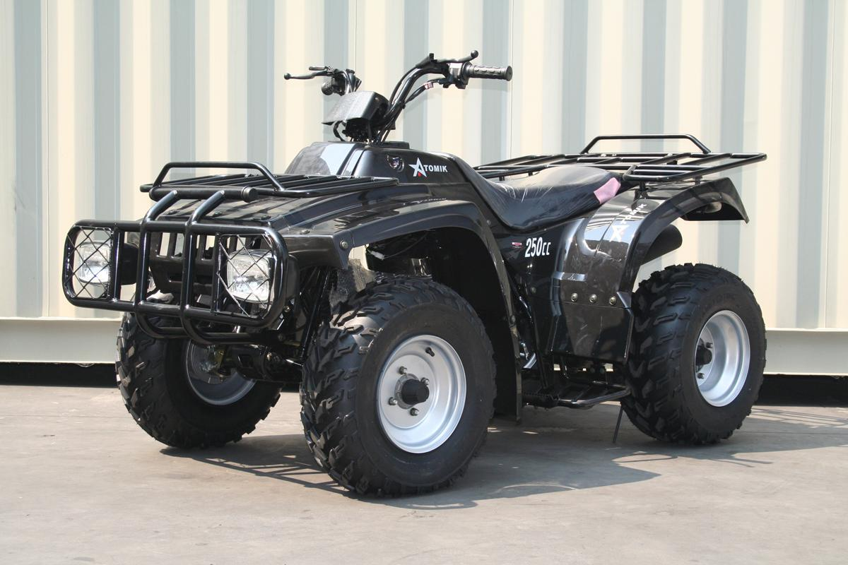 250ccFarmQuad4WheelerBike-Black