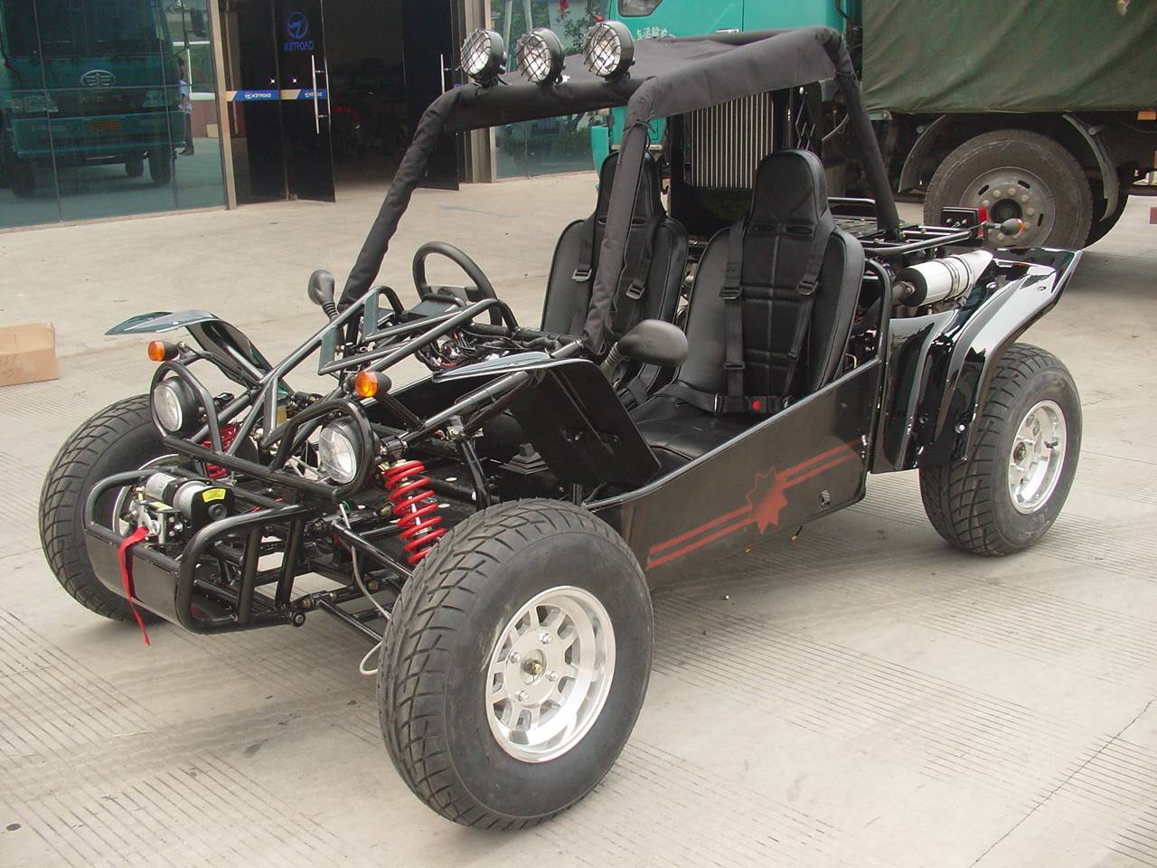 650cc Kinroad Dune buggy with Road tyres