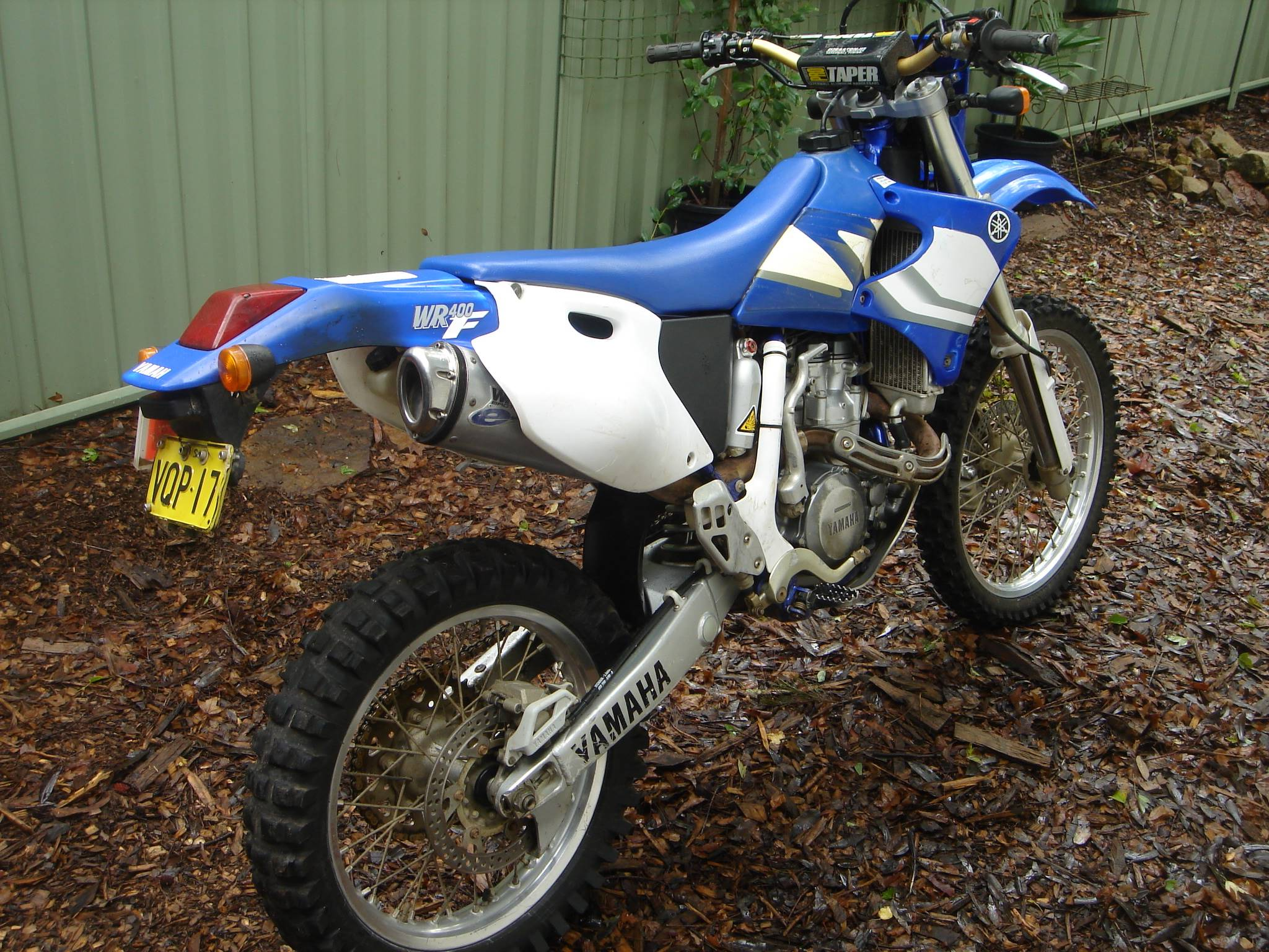 Yamaha WR 400 Trail dirt motorcross bike