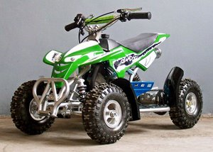 Green 49cc Kids Quad