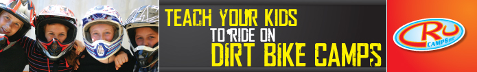 Teach Kids to Ride on Cru Dirt Bike Camps